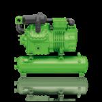Grupuri Compresor - Rezervor (fara Condensator) cu compresoare semiermetice in 2 trepte