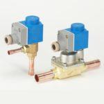 Valve termostatice electronice pulsatorii AKV