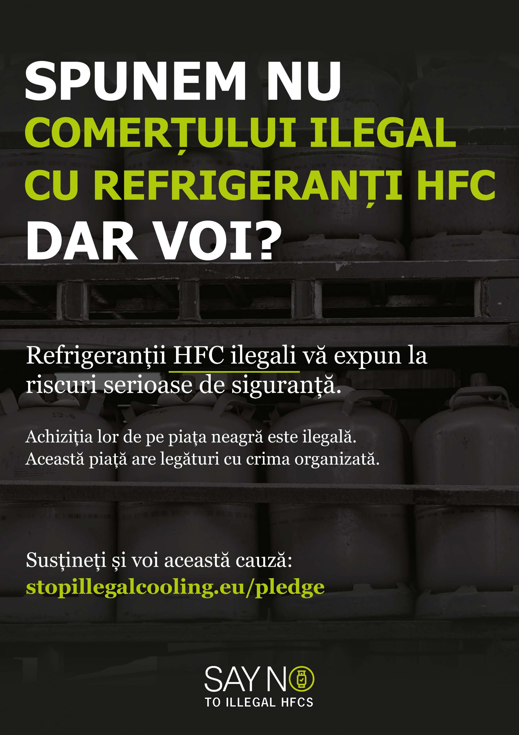 Say NO to illegal HFCs