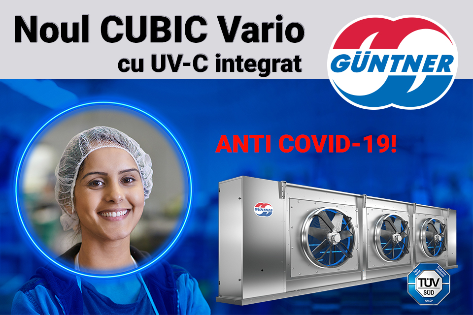 GUNTNER CUBIC Vario UV-C
