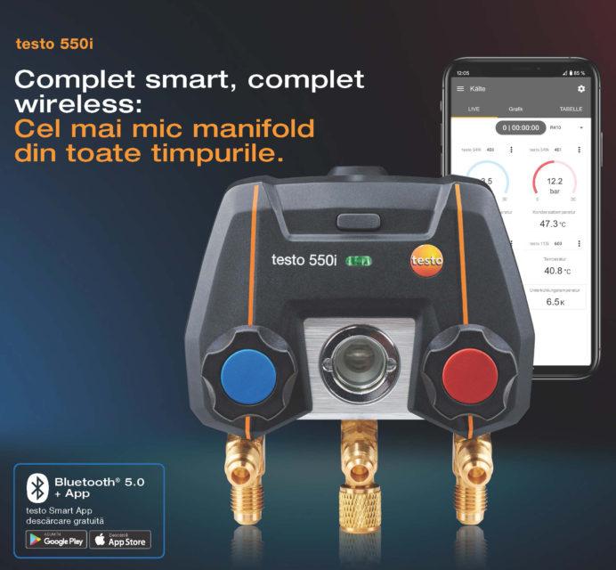 manifold digital testo 550i