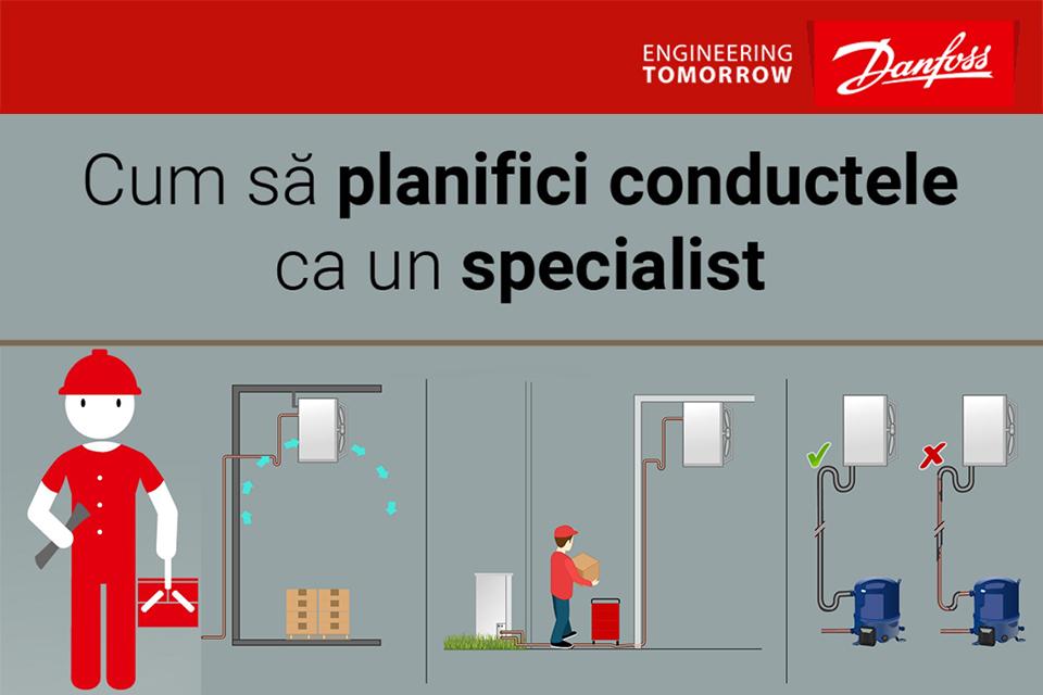 Danfoss Planificare Conducte